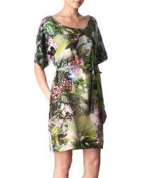 Paul by Paul Smith Botanical-Print Dress - Lyst