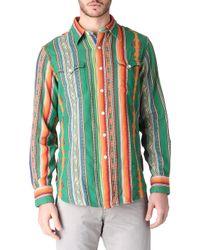 Ralph Lauren Western Shirt - Lyst