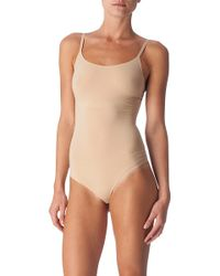 Spanx Trust Your Thinstincts Thong Body Natural - Lyst