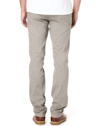 7 For All Mankind Slimmy Chino Trousers - Lyst