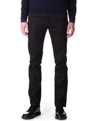 Acne Studios Roc Cash Regularfit Tapered Jeans Black - Lyst