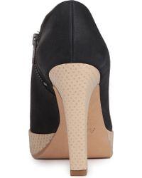 Acne Studios Cissetta Leather Shoe Boots - Lyst