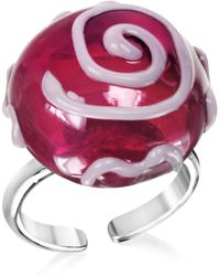 Antica Murrina - Mignon Murano Glass Ring - Lyst