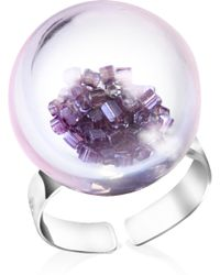 Antica Murrina - Shine Murano Glass Ring - Lyst