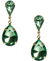 Asos Teardrop Earrings - Lyst