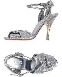 D&G Silver High - Lyst