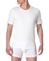 Hugo Boss Pack Of Three Plain Cotton Tshirts White - Lyst