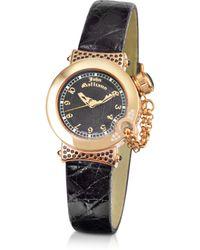 John Galliano - Lelu - Ladies Diamond Gold Plated Dress Watch - Lyst