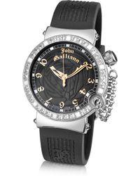 John Galliano - L'Elu - Ladies' Jewelled Stainless Steel Dress Watch - Lyst