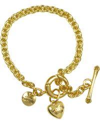 Juicy Couture Chain Bracelet - Metallic