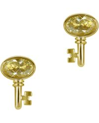 Juicy Couture - Key Studs - Lyst