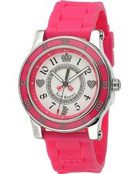 Juicy Couture - Stainless Steel and Rubber Watch - Lyst
