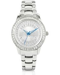 Just Cavalli Ice Lady Silver Sunray Watch - Lyst