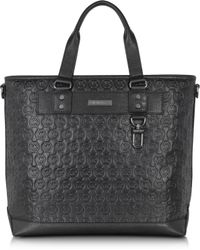 Michael Kors - Large Embossed Leather Ew Tote - Lyst