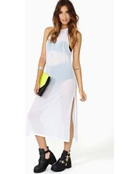 Nasty Gal Cool Cloud Maxi Dress - Lyst
