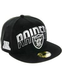 Eastpak - New Era 59fifty Cap Oakland Raiders - Lyst