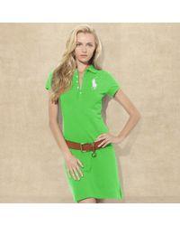 Ralph Lauren Blue Label | Big Pony Polo Dress | Lyst