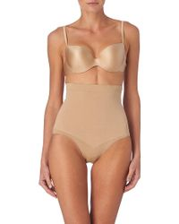 Spanx - Slim Cognito High-waisted Briefs - Lyst