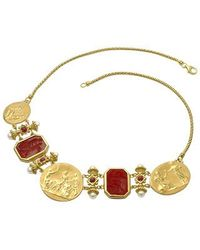 Tagliamonte | Classics Collection - 18k Gold And Ruby Necklace | Lyst