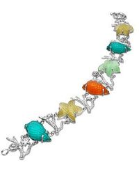 Tagliamonte - Marina Collection - Multicolor 18k Gold Bracelet - Lyst