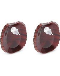 Tatty Devine - Tortoise Shell Earrings - Lyst