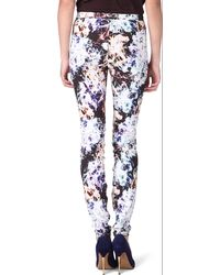 Theyskens' Theory Printed Trousers - Lyst