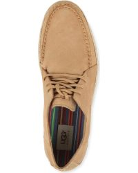 UGG - Macaw Lace Up Boat Shoes - Lyst