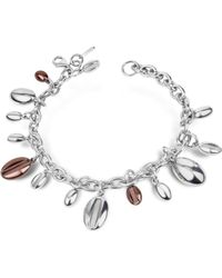 Zoppini -  Stainless Steel Charm Bracelet - Lyst