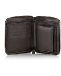 Harrods - Saffiano Leather Wallet - Lyst
