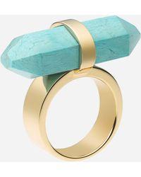 MICHAEL Michael Kors Michael Kors Seaside Luxe Stone Ring - Lyst