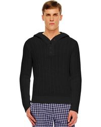 Michael Kors Ribbed Knit Pullover - Lyst