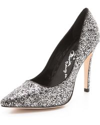 Alice + Olivia Dahlia Sparkle Pumps - Lyst