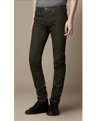 Burberry Shoreditch Seaspray Skinny Fit Jeans - Lyst