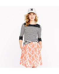 J.Crew Painter Tee in Colorblock Stripe - Lyst