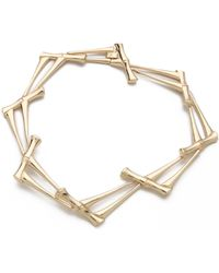 Rose Pierre - Bamboo Jungle Collar Necklace - Lyst