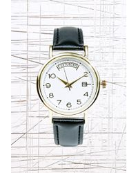 Urban Outfitters - Large Day Face Watch - Lyst