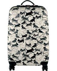 Radley - Thames Dog Print 4wheel Cabin Suitcase - Lyst