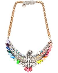 Shourouk Phoenix Necklace - Lyst