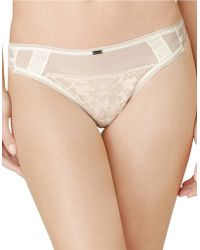Calvin Klein White Bridal Thong - Lyst