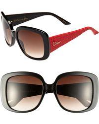 Dior Ladylady 56mm Sunglasses - Lyst