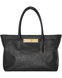 Vince Camuto Alex Leather Tote Bag - Lyst