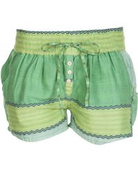 Ace & Jig - Isle Geo Striped Short - Lyst