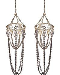 Clemmie Watson - Chandelier Basket Earrings - Lyst