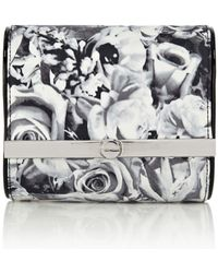 Karen Millen Dot Floral Print Mini Bag - Lyst