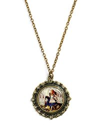ModCloth Alice in Necklace - Lyst