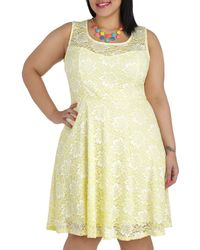 ModCloth Lemon Drop By Dress  - Lyst