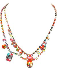 Tom Binns - Riot Of Colour Asymetrical Necklace - Lyst