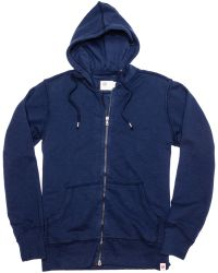 AG Adriano Goldschmied Zip Through Athletic Hoodie - Lyst