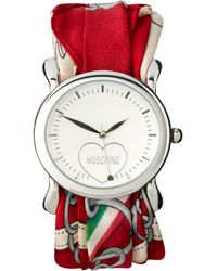 Moschino -  Scarf Wrap Wrist Watch - Lyst