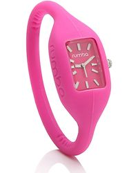 Rumbatime Pink Small Silicone Watch - Lyst